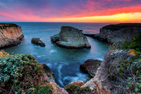 Shark Fin Cove Overlook, Davenport, California